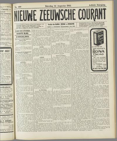 Nieuwe Zeeuwsche Courant 1912-08-24