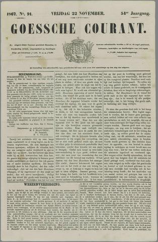Goessche Courant 1867-11-22