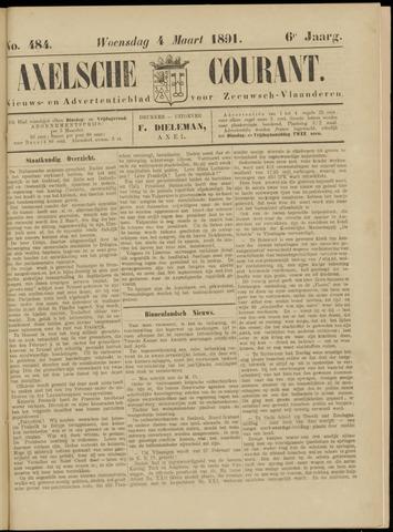 Axelsche Courant 1891-03-04