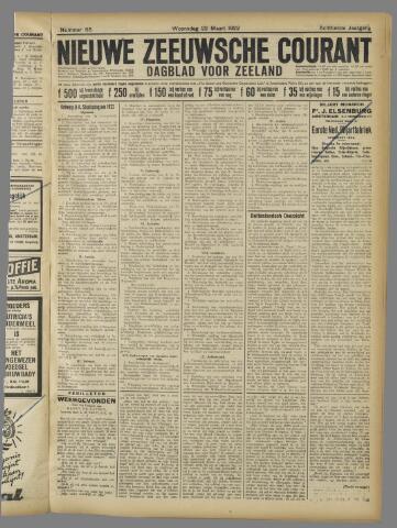 Nieuwe Zeeuwsche Courant 1922-03-22