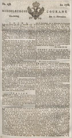Middelburgsche Courant 1768-11-17