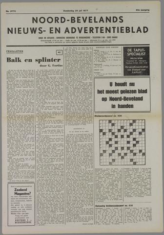 Noord-Bevelands Nieuws- en advertentieblad 1977-07-28