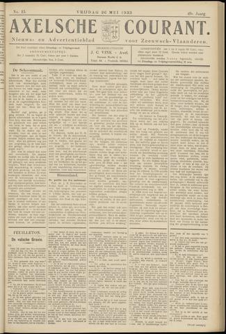 Axelsche Courant 1933-05-26