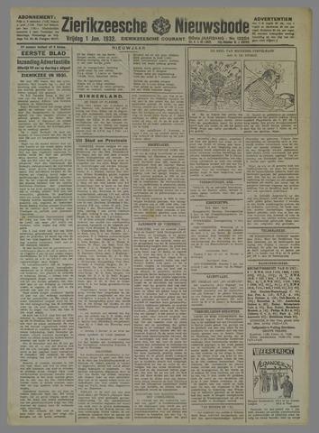 Zierikzeesche Nieuwsbode 1932