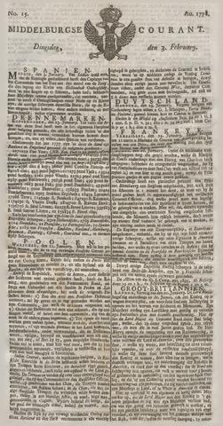 Middelburgsche Courant 1778-02-03