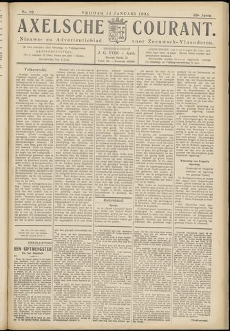Axelsche Courant 1938-01-14