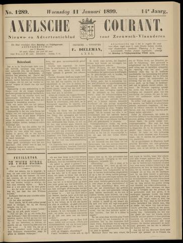 Axelsche Courant 1899-01-11