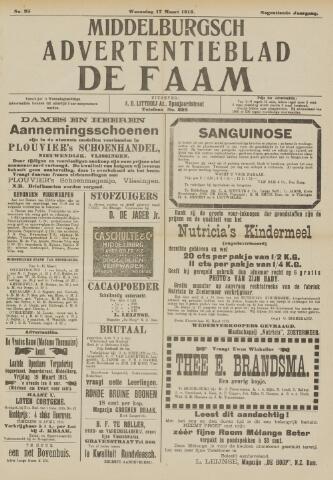 de Faam en de Faam/de Vlissinger 1915-03-17
