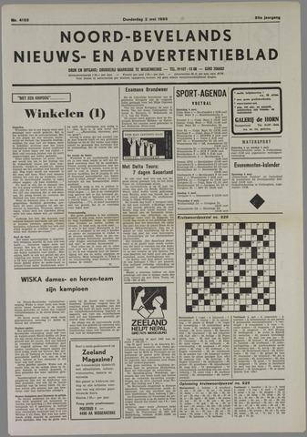 Noord-Bevelands Nieuws- en advertentieblad 1985-05-02