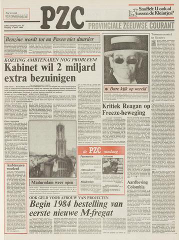 Provinciale Zeeuwse Courant 1983-04-01