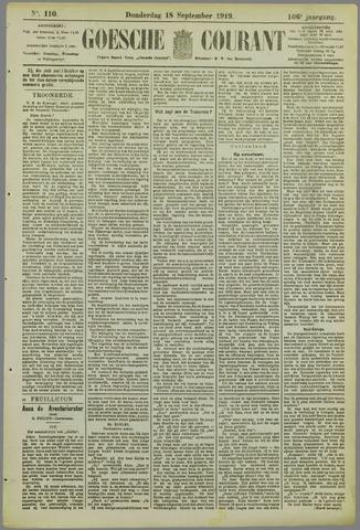Goessche Courant 1919-09-18