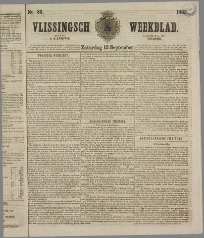 Vlissings Weekblad 1863-09-12