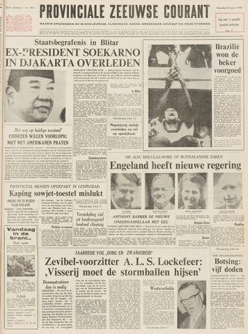 Provinciale Zeeuwse Courant 1970-06-22