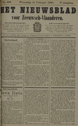 Nieuwsblad voor Zeeuwsch-Vlaanderen 1900-02-21