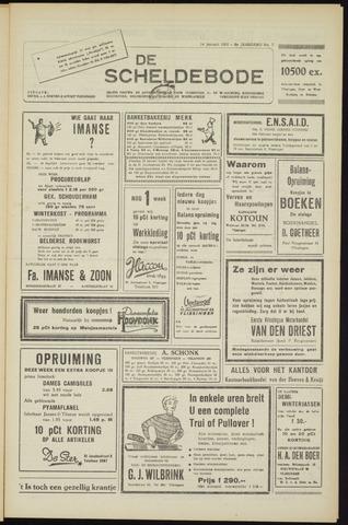 Scheldebode 1955-01-14