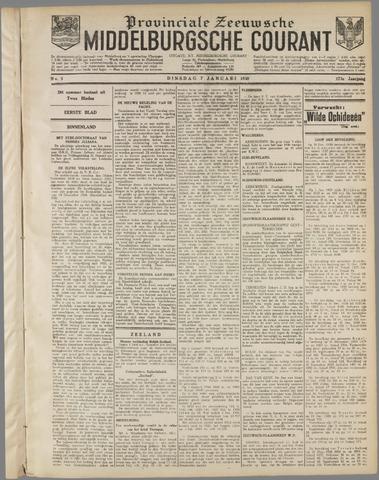 Middelburgsche Courant 1930-01-07