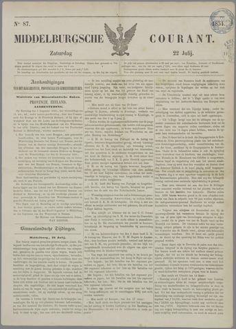Middelburgsche Courant 1854-07-22