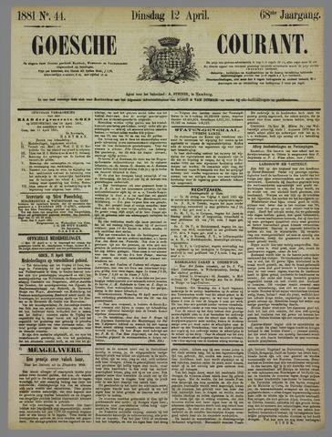 Goessche Courant 1881-04-12