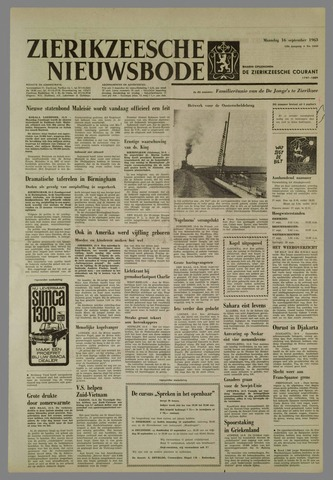 Zierikzeesche Nieuwsbode 1963-09-16