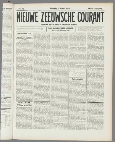 Nieuwe Zeeuwsche Courant 1908-03-03