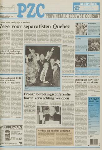 Provinciale Zeeuwse Courant 1994-09-14