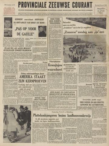Provinciale Zeeuwse Courant 1963-01-28