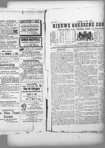 Nieuwe Goessche Courant 1879-05-01