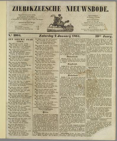Zierikzeesche Nieuwsbode 1864
