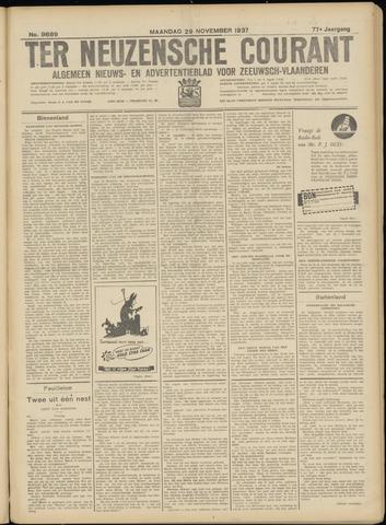 Ter Neuzensche Courant. Algemeen Nieuws- en Advertentieblad voor Zeeuwsch-Vlaanderen / Neuzensche Courant ... (idem) / (Algemeen) nieuws en advertentieblad voor Zeeuwsch-Vlaanderen 1937-11-29