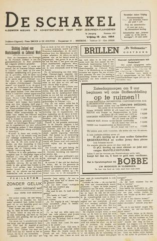 De Schakel 1954-01-15