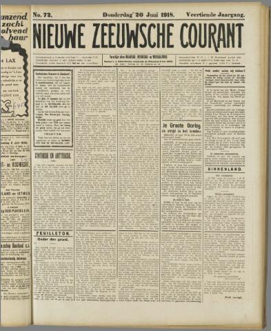Nieuwe Zeeuwsche Courant 1918-06-20