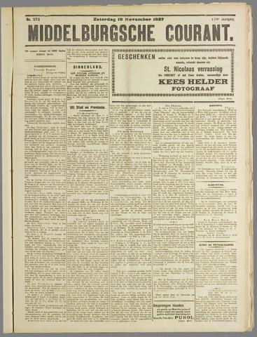 Middelburgsche Courant 1927-11-19