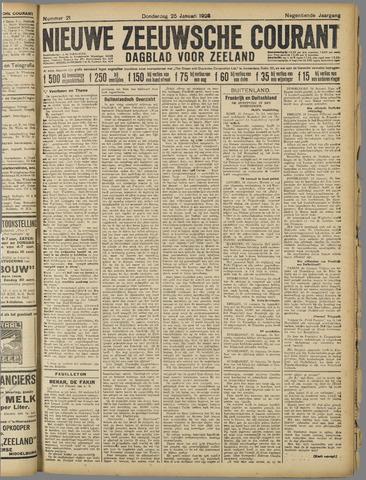 Nieuwe Zeeuwsche Courant 1923-01-25