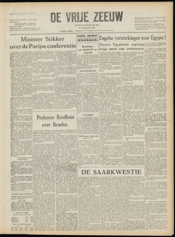 de Vrije Zeeuw 1952-01-29