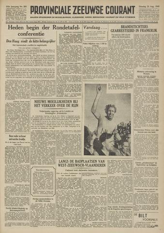 Provinciale Zeeuwse Courant 1949-08-23