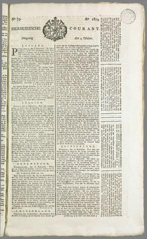 Zierikzeesche Courant 1814-10-04