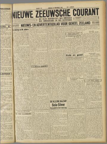 Nieuwe Zeeuwsche Courant 1932-11-15