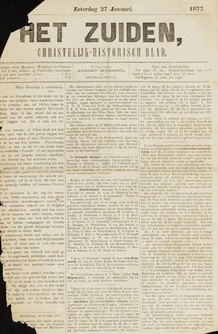 Het Zuiden, Christelijk-historisch blad 1877-01-27