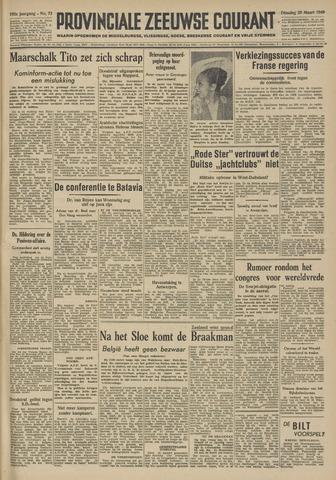 Provinciale Zeeuwse Courant 1949-03-29