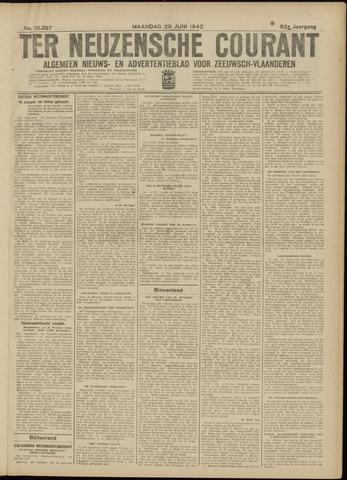 Ter Neuzensche Courant. Algemeen Nieuws- en Advertentieblad voor Zeeuwsch-Vlaanderen / Neuzensche Courant ... (idem) / (Algemeen) nieuws en advertentieblad voor Zeeuwsch-Vlaanderen 1942-06-29