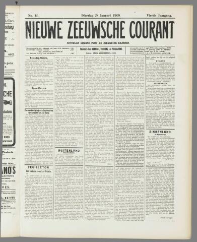 Nieuwe Zeeuwsche Courant 1908-01-28