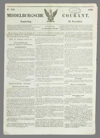 Middelburgsche Courant 1860-11-29