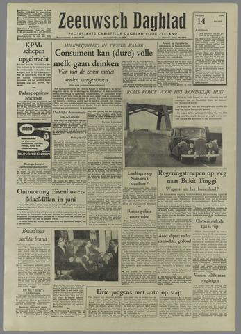 Zeeuwsch Dagblad 1958-03-14
