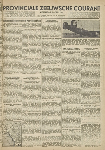 Provinciale Zeeuwse Courant 1944-04-05