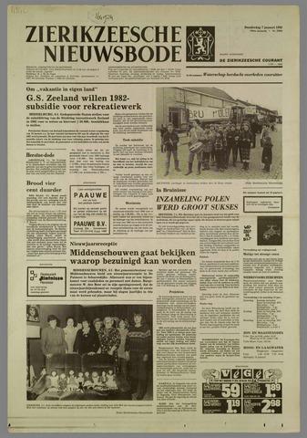 Zierikzeesche Nieuwsbode 1982-01-07