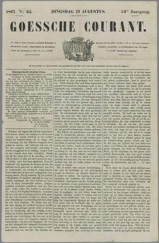 Goessche Courant 1867-08-13