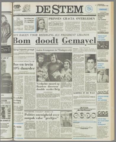 de Stem 1982-09-15