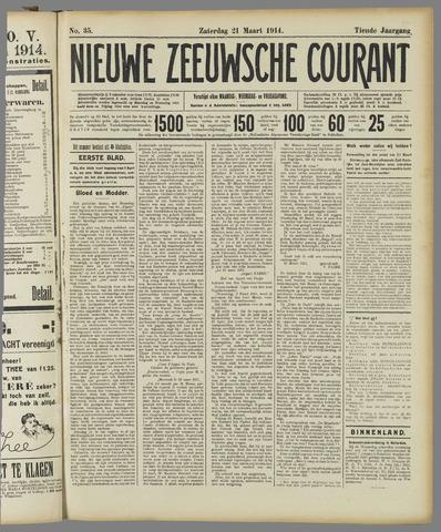 Nieuwe Zeeuwsche Courant 1914-03-21