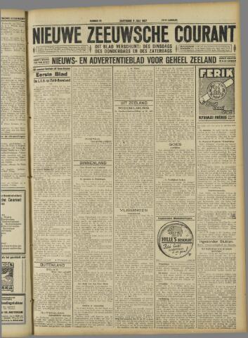 Nieuwe Zeeuwsche Courant 1927-07-09