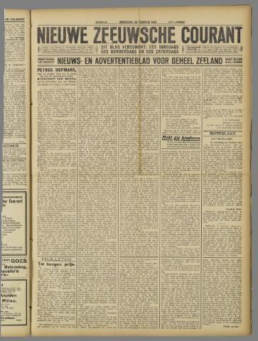 Nieuwe Zeeuwsche Courant 1925-02-26